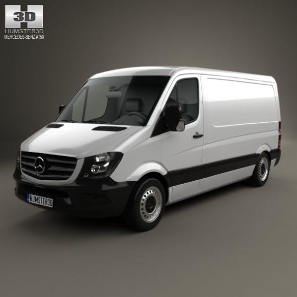 Mercedes-Benz Sprinter Panel Van SWB SR 2013 - 3DOcean Item for Sale