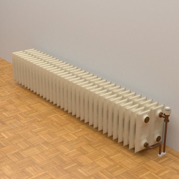 Low Profile Radiator - 3DOcean Item for Sale