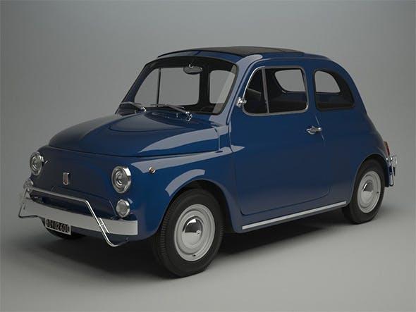 Fiat 500 L 1970 - 3DOcean Item for Sale