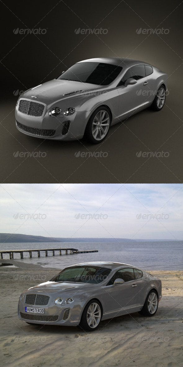 Bentley Continental Supersports  - 3DOcean Item for Sale