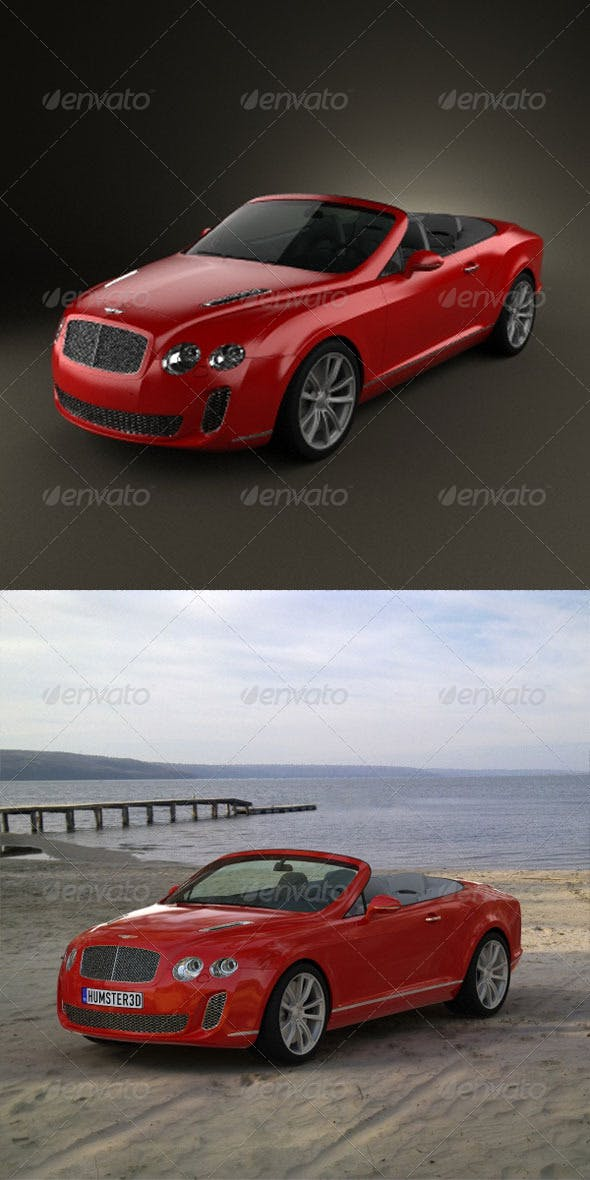 Bentley Continental Supersports Convertible - 3DOcean Item for Sale