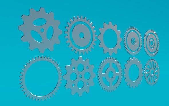 Gears 7  - 3DOcean Item for Sale
