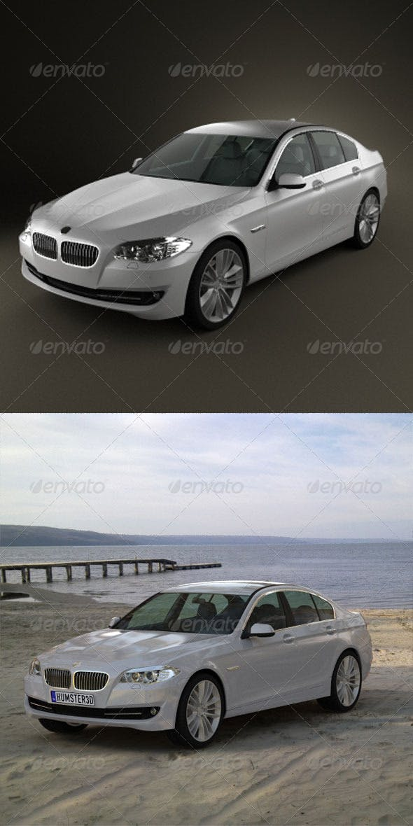 BMW 5 series 2011  - 3DOcean Item for Sale