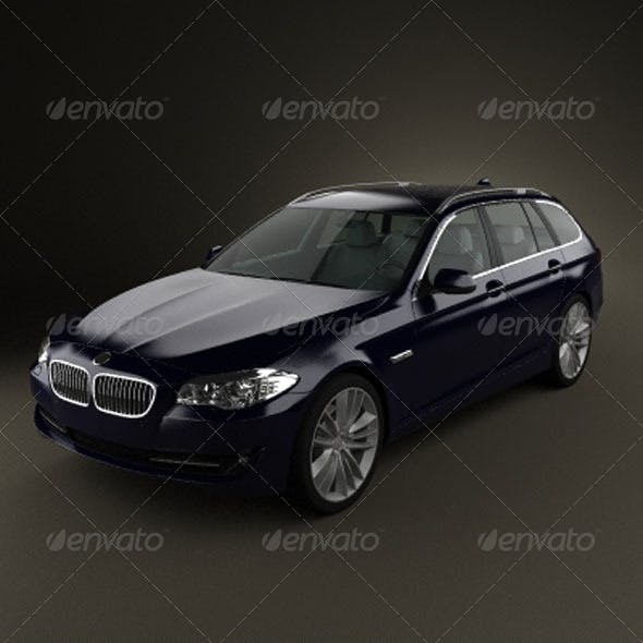 BMW 5 series touring 2011