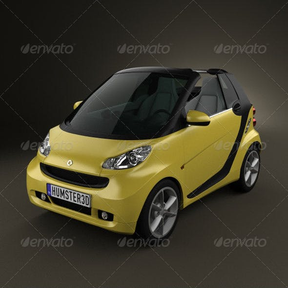 Smart ForTwo 2011 convertible openTop