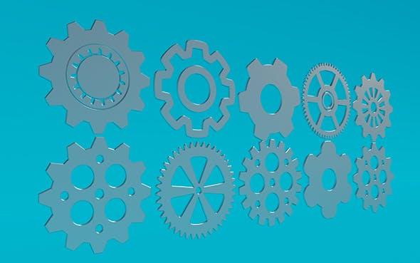 Gears 11 - 3DOcean Item for Sale