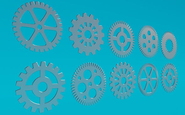 Gears 2 - 3DOcean Item for Sale