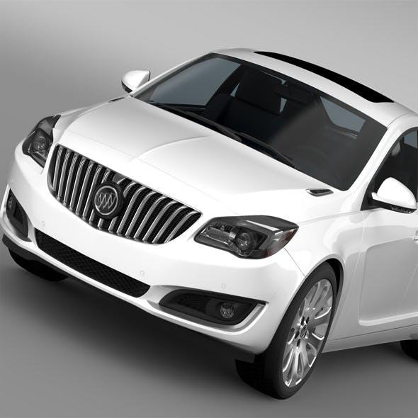 Buick Regal 2015 - 3DOcean Item for Sale