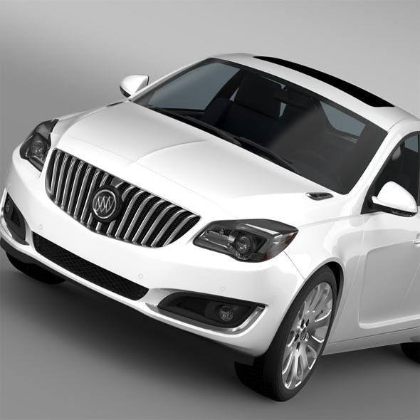 Buick Regal FlexFuel 2015