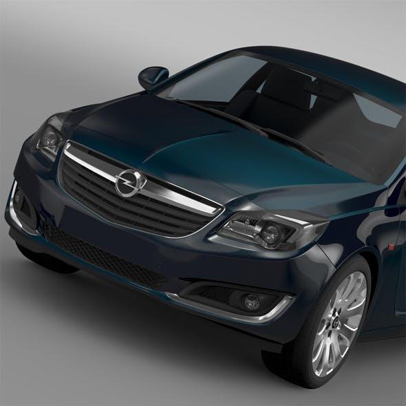 Opel Insignia ECOFlex 2015 - 3DOcean Item for Sale