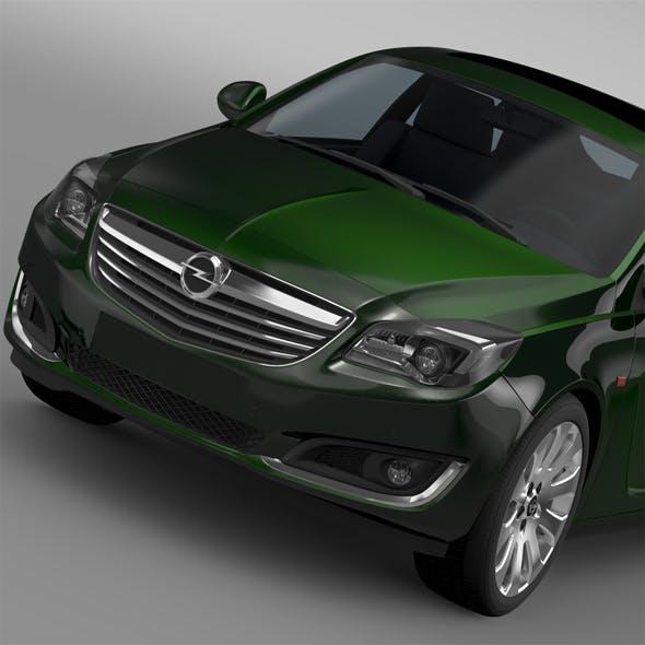 Opel Insignia Hatchback 2015 - 3DOcean Item for Sale
