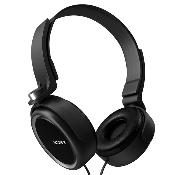Sony Headphones - 3DOcean Item for Sale