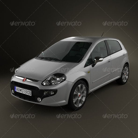 Fiat Punto Evo 5door 2010