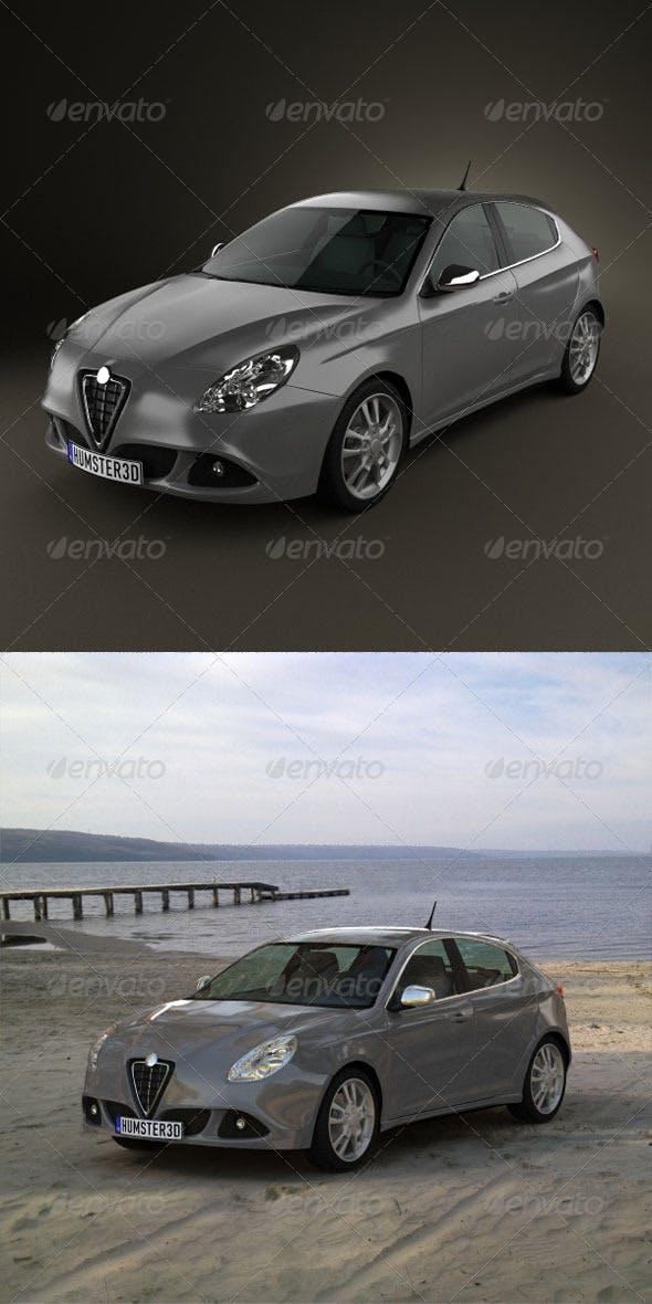 Alfa Romeo Giulietta 2011  - 3DOcean Item for Sale