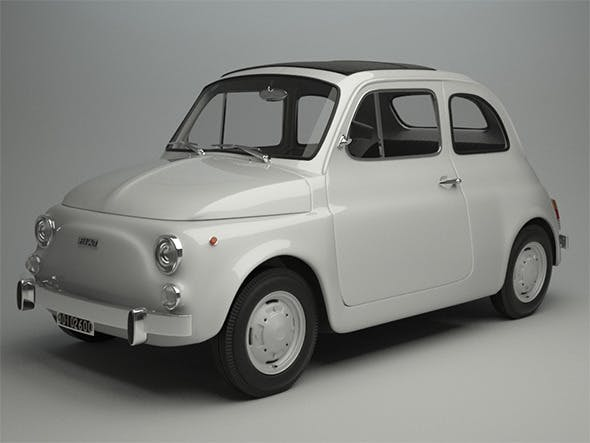 Fiat 500 R 1975 - 3DOcean Item for Sale