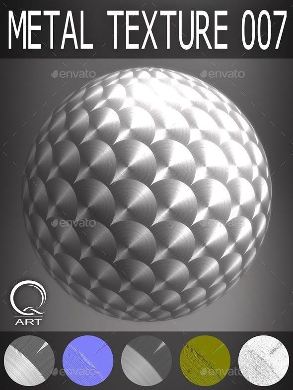 Metal Textures 007 - 3DOcean Item for Sale