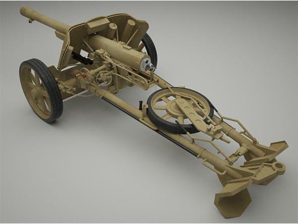 75mm Pak 97/38  - 3DOcean Item for Sale