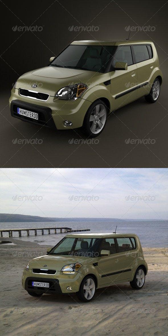 Kia soul 2010  - 3DOcean Item for Sale