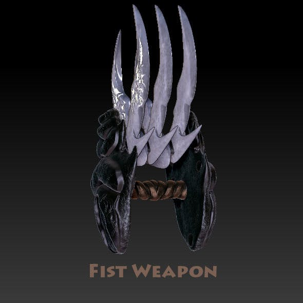 Fist Weapon - The Eviscerator