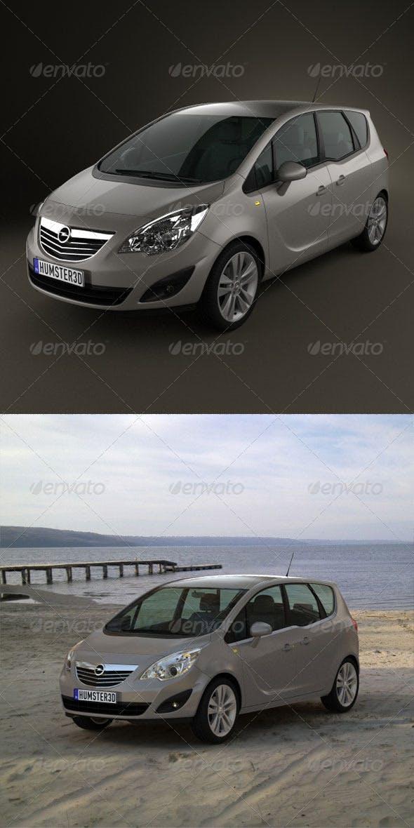 Opel Meriva 2011 - 3DOcean Item for Sale