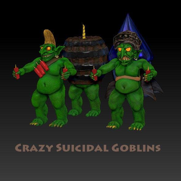 Crazy Suicidal Goblins