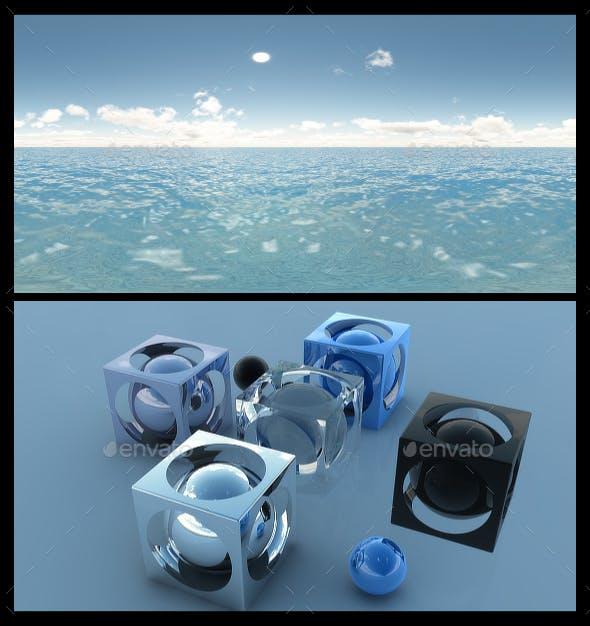 Ocean Blue Clouds 7 - HDRI - 3DOcean Item for Sale