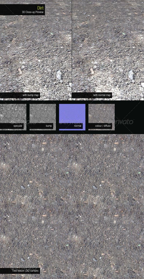 Dirt - 3DOcean Item for Sale