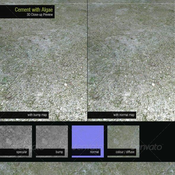 Concrete with Algae