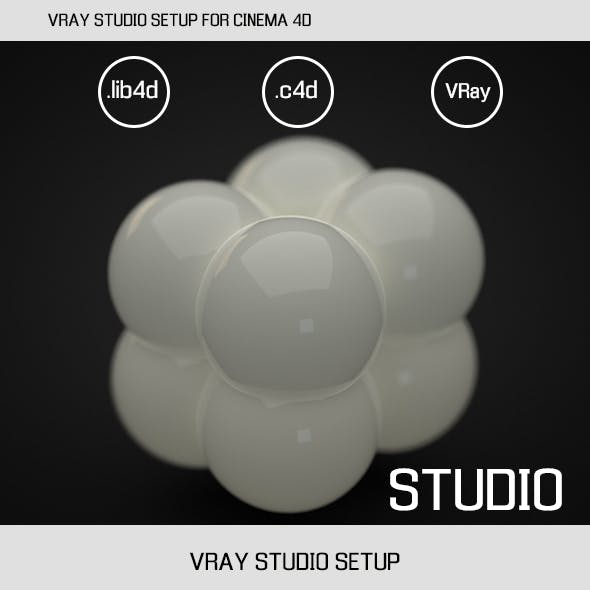 VRAY STUDIO SETUP FOR CINEMA 4D