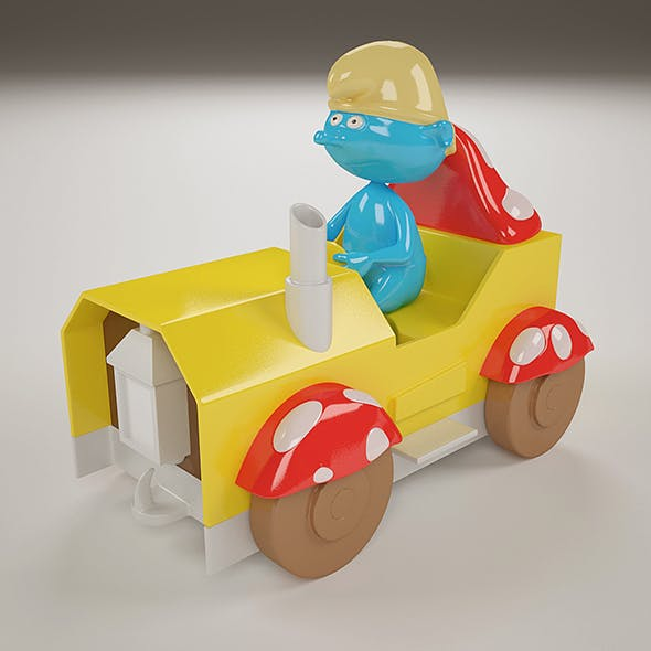 The Smurf Toy