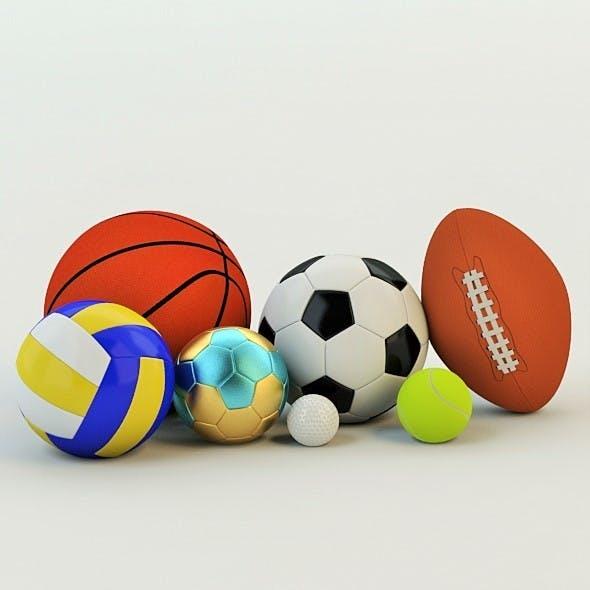 3D Realistic Balls