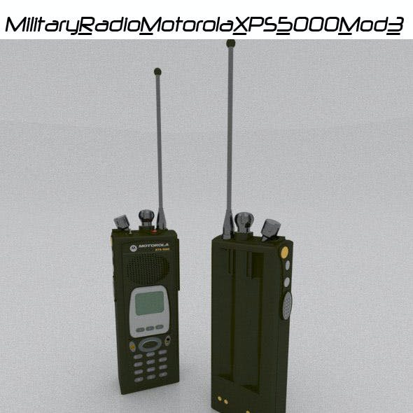 Military Radio Motorola XPS 5000