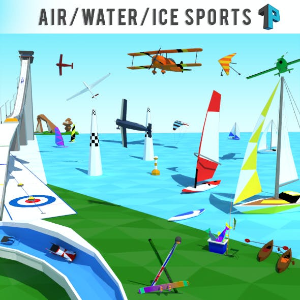Air Water Ice Games - Ultimate Sport Package