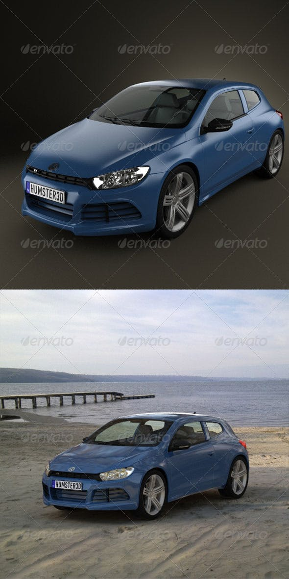 Volkswagen Scirocco R 2010  - 3DOcean Item for Sale