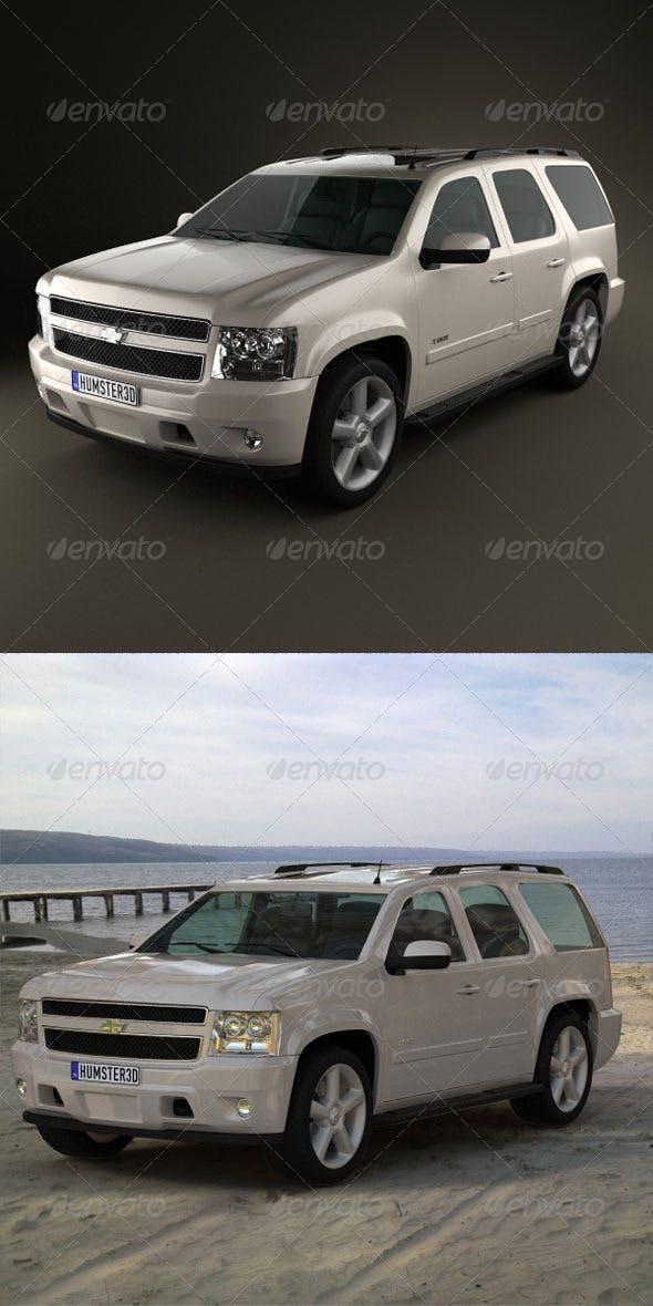 Chevrolet Tahoe 2010  - 3DOcean Item for Sale