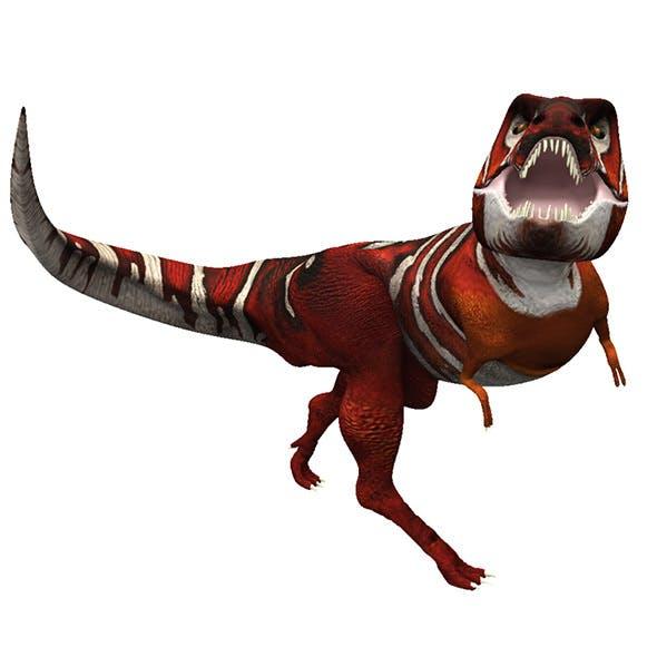 Simple Tyrannosaurus - 3DOcean Item for Sale