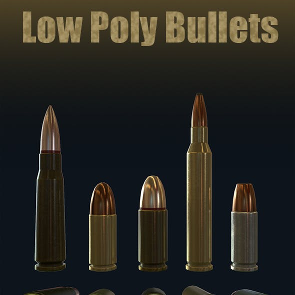Low-Poly Bullets