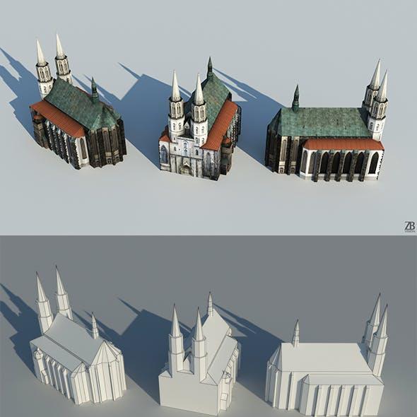 Lowpoly Church