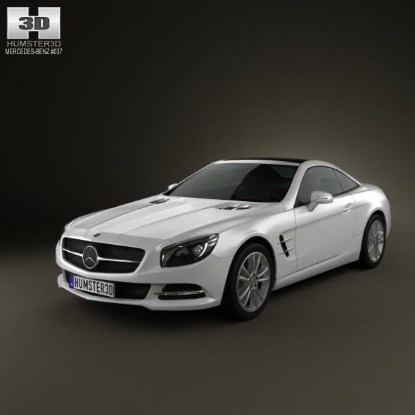 Mercedes-Benz SL-class 2012 - 3DOcean Item for Sale