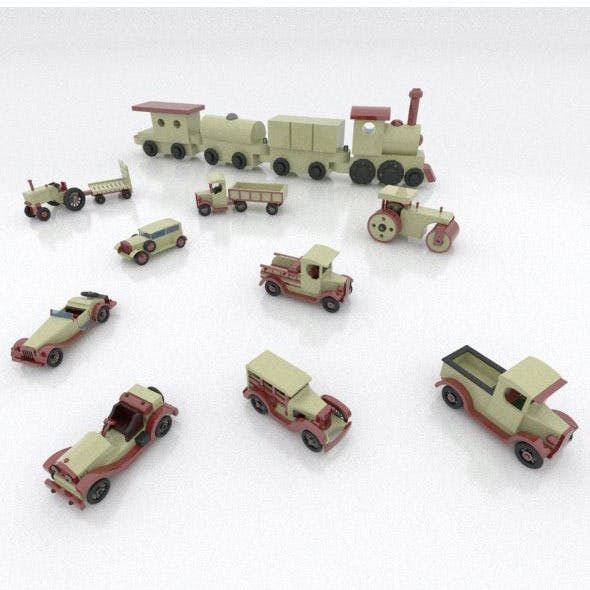 Toy Cars package