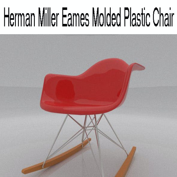 Herman Miller Eames Molded Plastic Chair