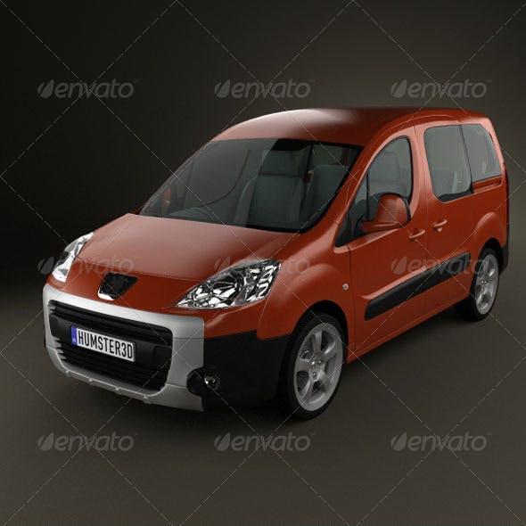 Peugeot Partner Tepee 2011