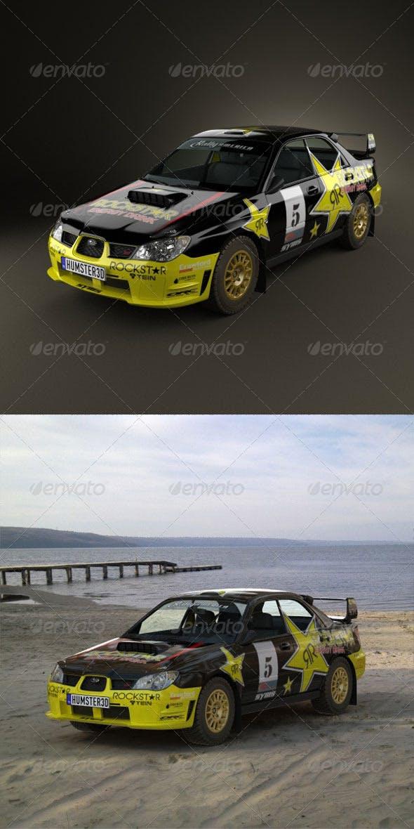 Subaru Impreza WRX STI 2006  - 3DOcean Item for Sale