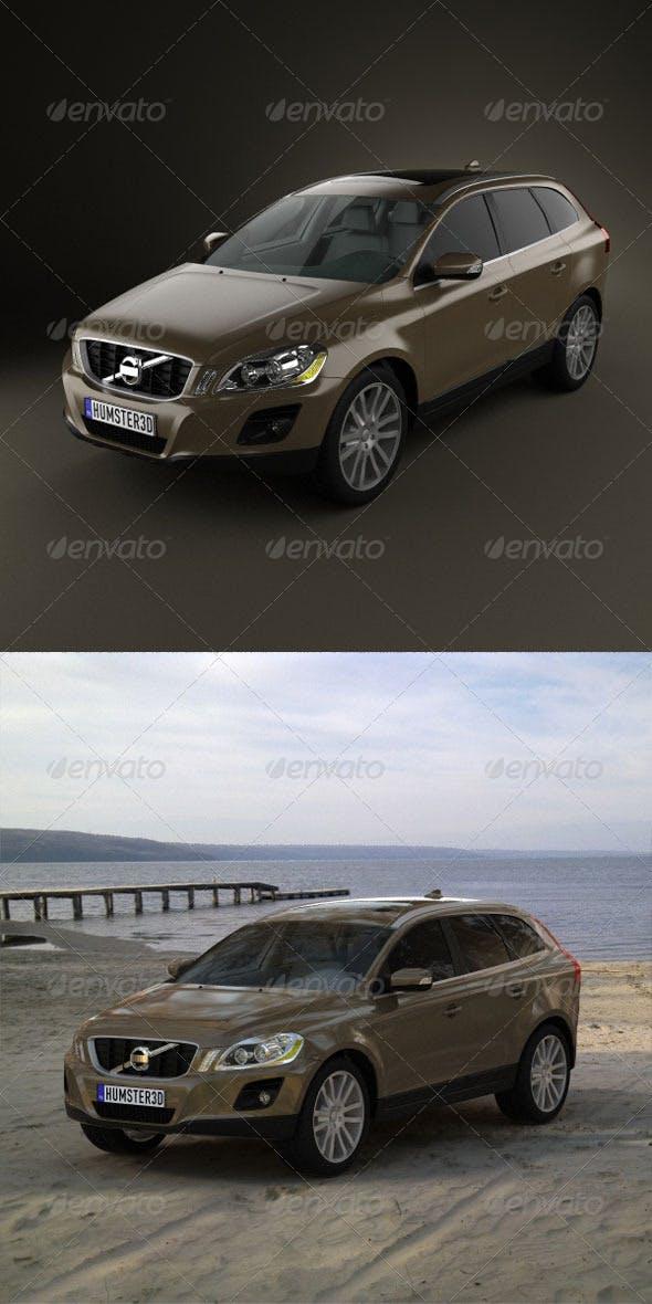 Volvo XC60  - 3DOcean Item for Sale