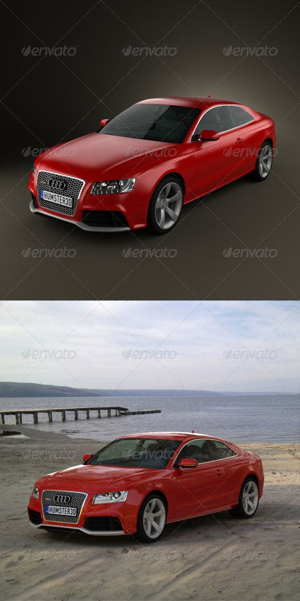 Audi RS5 2011  - 3DOcean Item for Sale