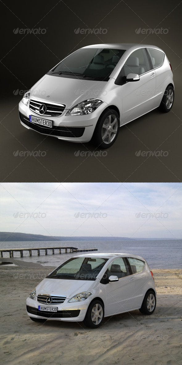 Mercedes-Benz A-Class Coupe  - 3DOcean Item for Sale