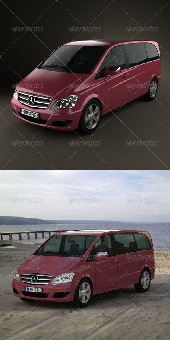 Mercedes-Benz Viano Compact  - 3DOcean Item for Sale