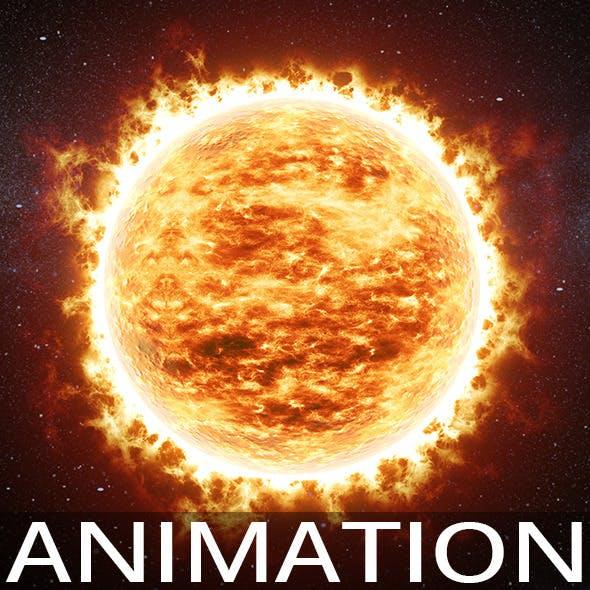 Animated sun v01