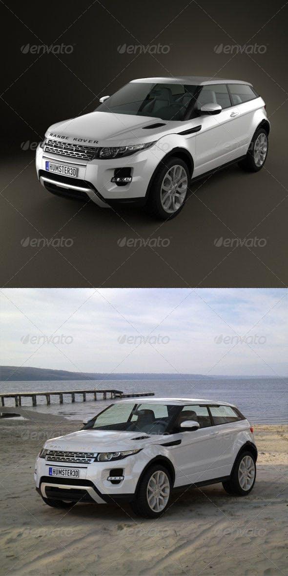 Range-Rover Evoque 2011  - 3DOcean Item for Sale