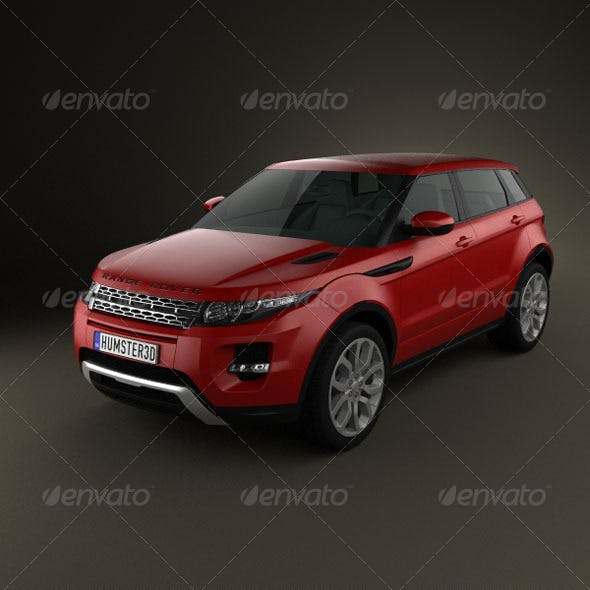Range-Rover Evoque 2012 5-door